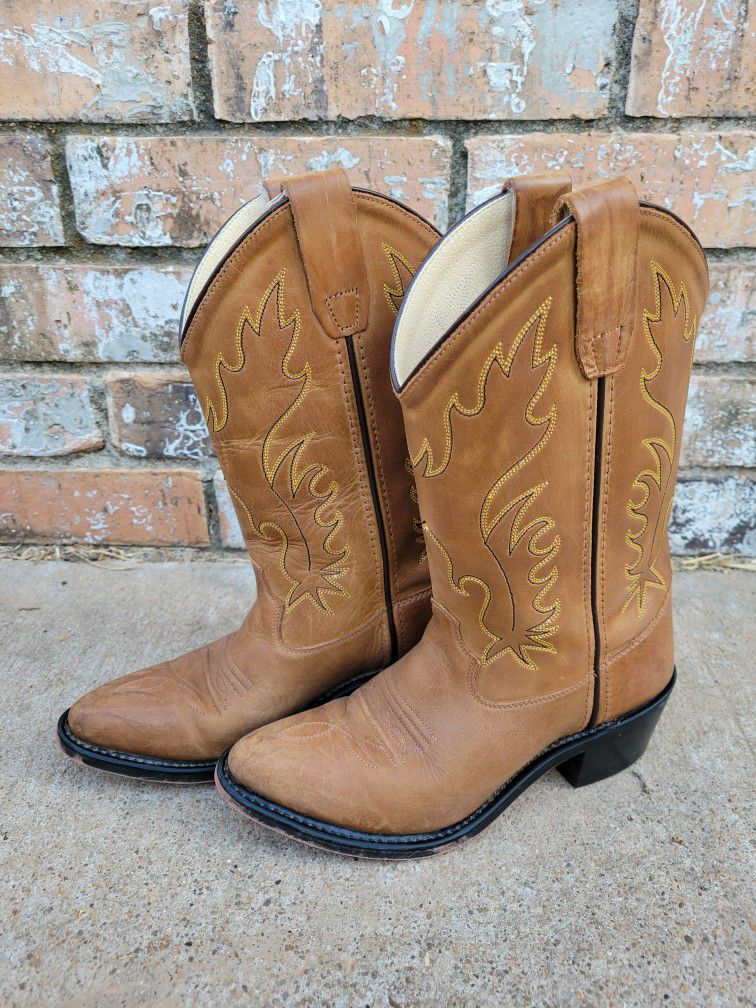 Old West Youth Western Boots