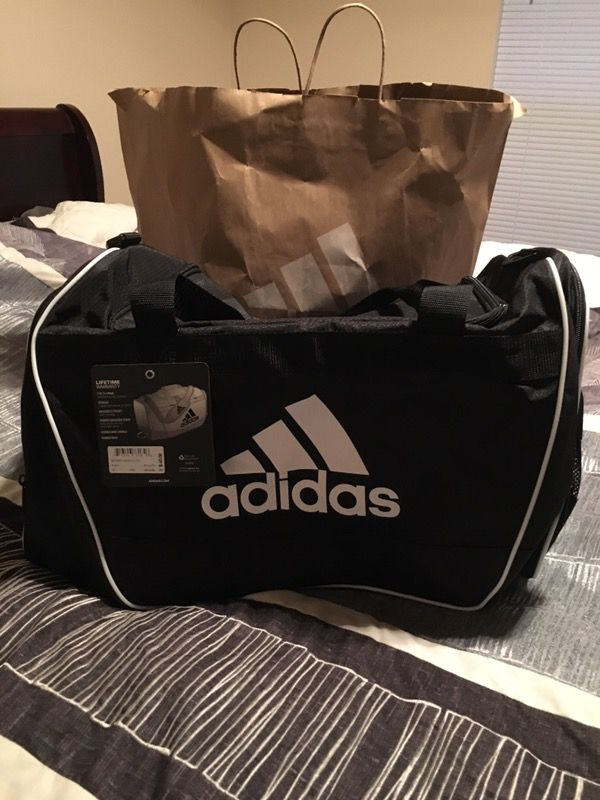 30122247cac85d Adidas Gym bag, Brand new and authentic with original price tag still on  them. I have two of these left for $25.00 each, or buy them both for $45.00