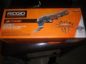 Photo New Ridgid octane job max 18v multi tool