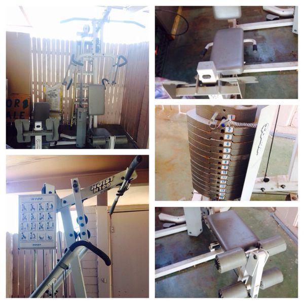 Hoist Gym H210: Hoist H100 Home Gym Review