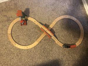 Photo Thomas the train Diesel Works wooden train set
