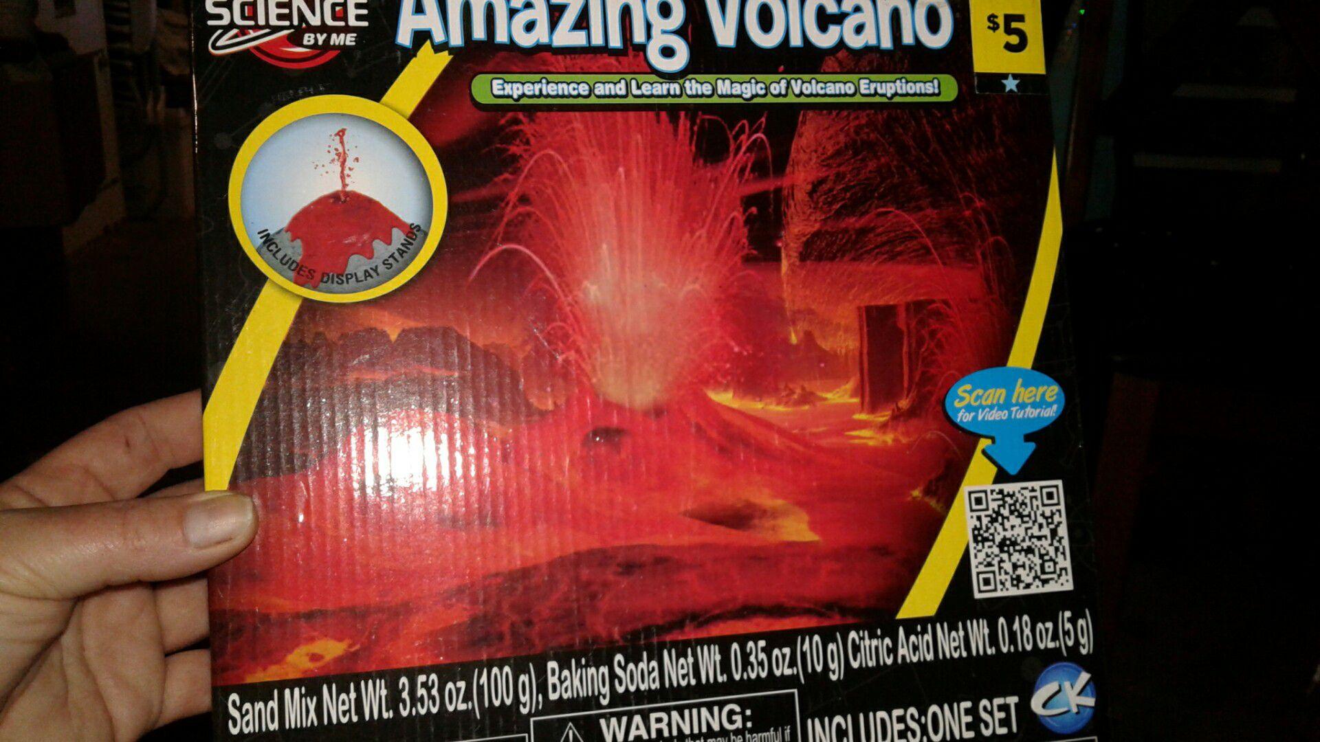 Amazing volcano