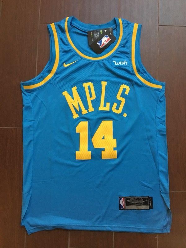 32de86c6e73 Los Angeles Lakers Brandon Ingram Retro Jersey M for Sale in ...