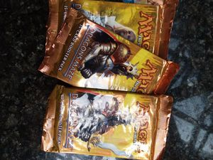 Magic the gathering Dragons maze booster packs for Sale in Seattle, WA