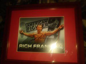 Rich Franklin& lyoto machida autographed pics for Sale in Columbus, OH