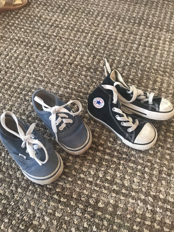 Toddler Vans and Converse High Tops for Sale in Oceanside ad4fdd31a