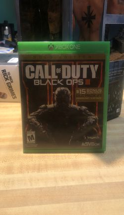 Call of duty black ops 3 for Xbox 1 Thumbnail