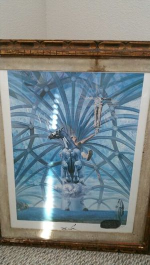 Autographed Salvador Dali Value $1100.00 for Sale in Tampa, FL