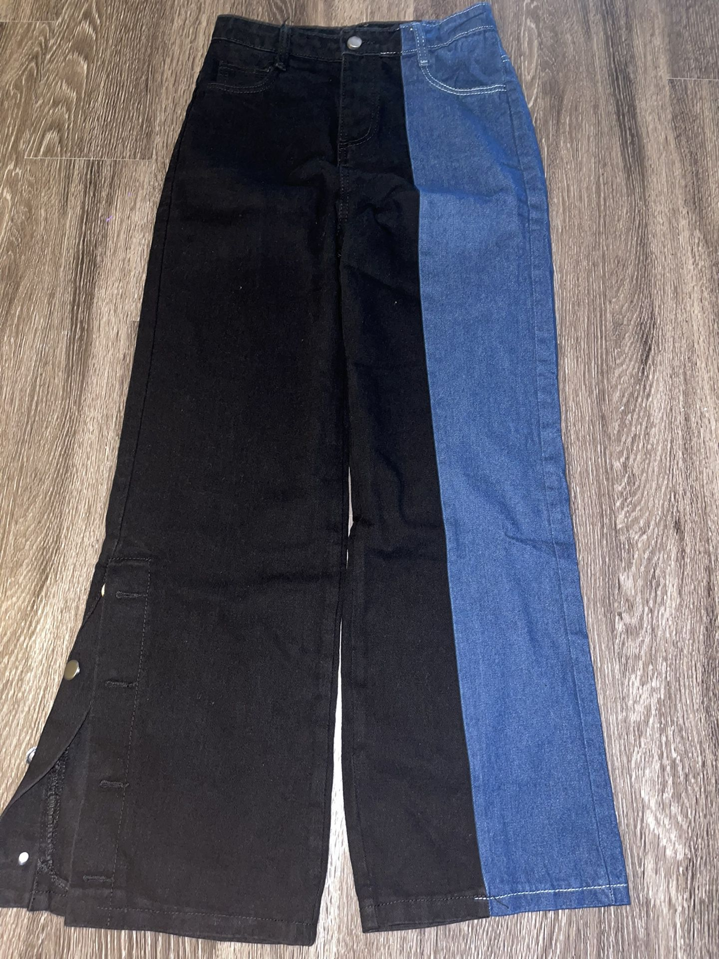 Vintage Two Color Jeans