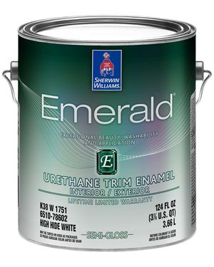 Photo Sherwin-Williams Emerald Urethane Trim Enamel - $50