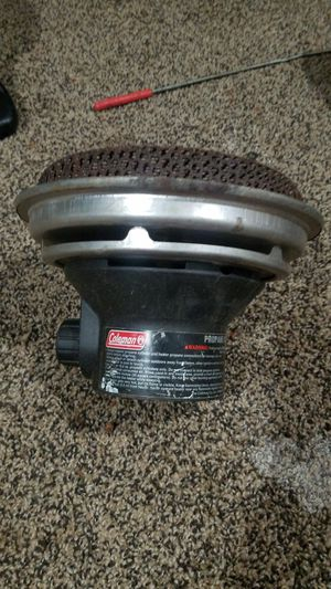 Coleman camping heater for Sale in Pittsboro, NC