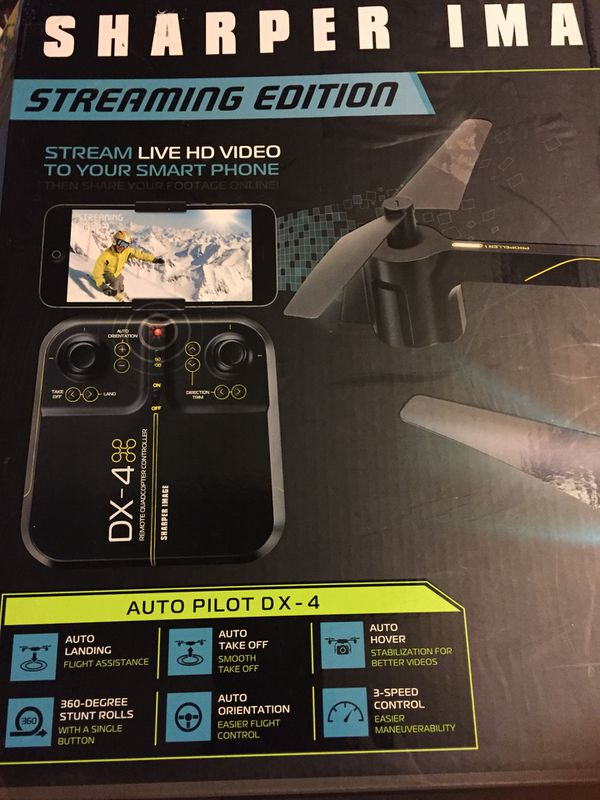Sharper Image Streaming Drone Best Offer For Sale In Chula Vista Ca