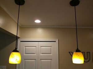 Pendant light for kitchen island for Sale in Ellicott City, MD