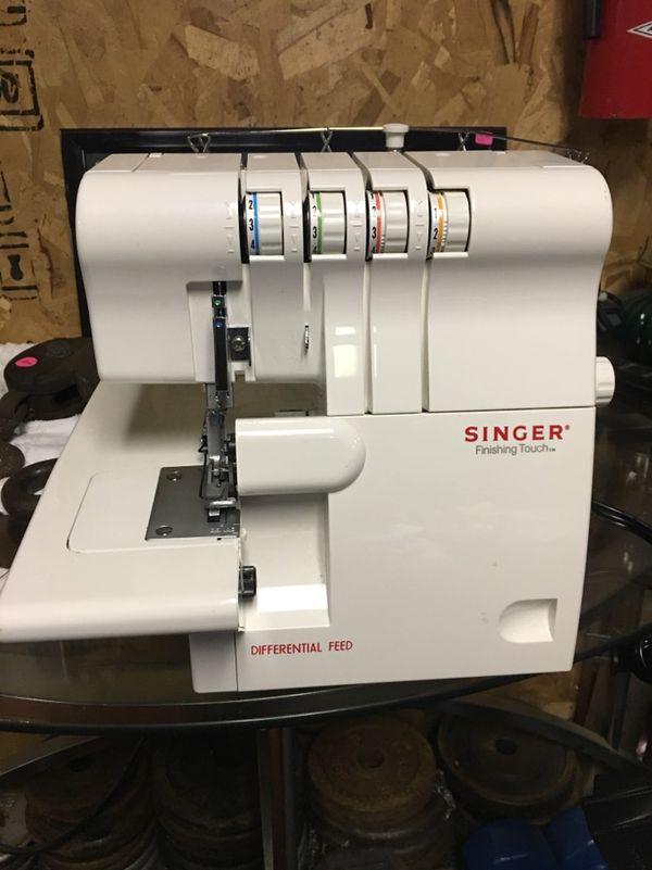 Singer 40SH40 Finishing Touch Serger For Sale In Wellsville PA Interesting Singer 14sh654 Finishing Touch Serger Sewing Machine