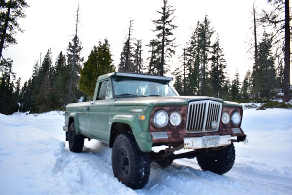 1970 Kaiser Jeep Gladiator J-3000 for Sale in Fresno, CA - OfferUp