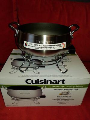 Cuisinart® 3 qt. Electric Fondue Set for Sale in Centreville, VA