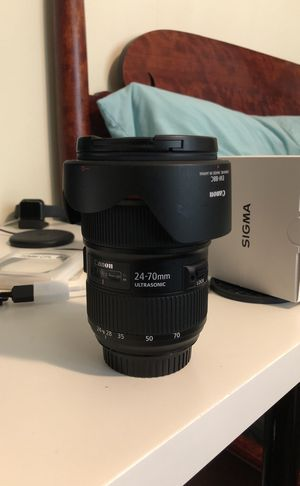 Canon Camera Lens: 24-70L f/2.8 II for Sale in Chillum, MD