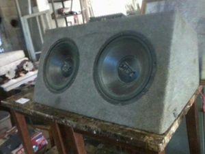 Mtx 3000's and mtx amp for Sale in Kenbridge, VA