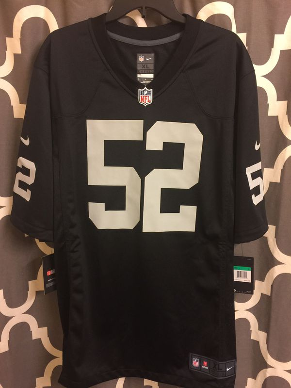 1399b8e39 New and Used Raiders jersey for Sale in Woodland
