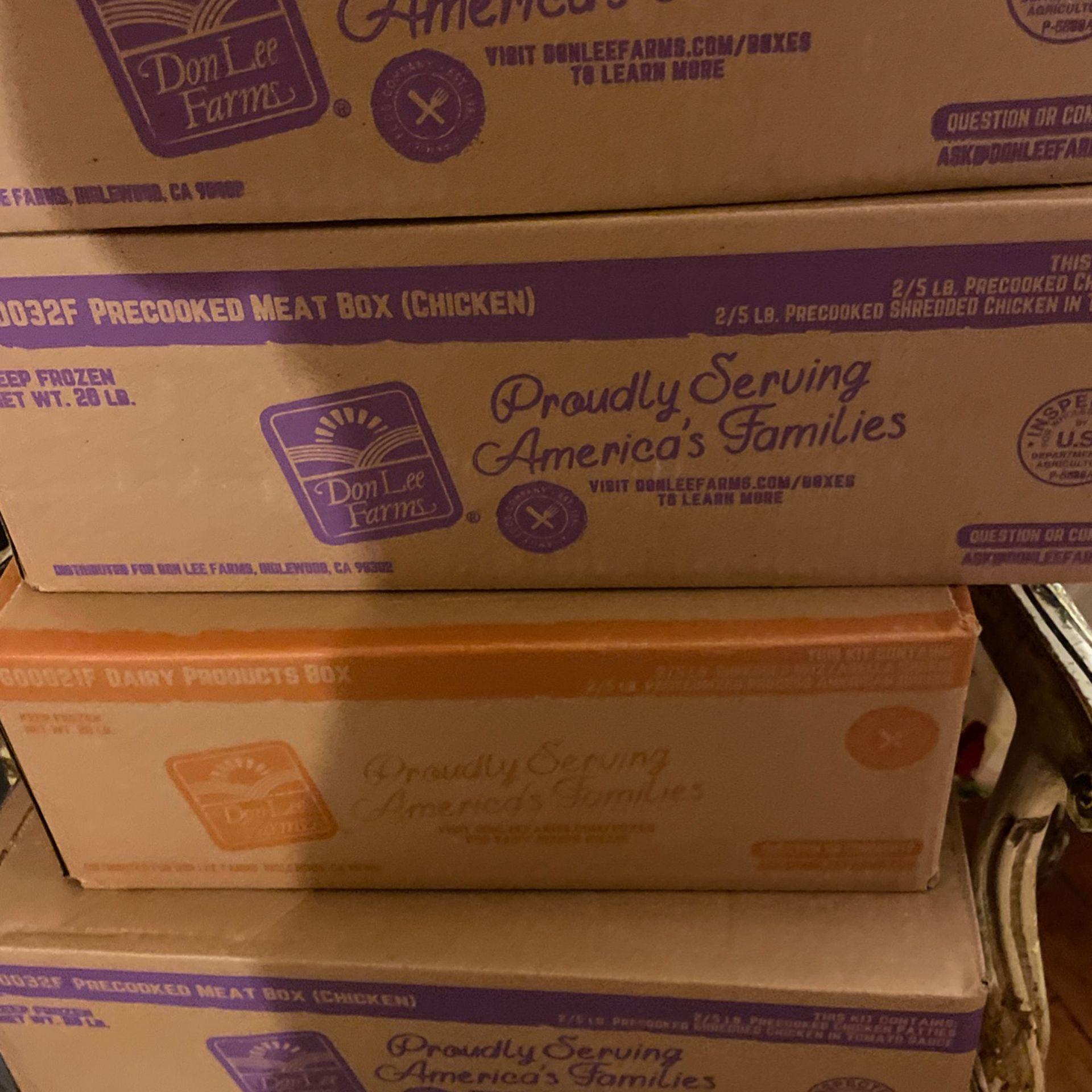4 Boxes Free