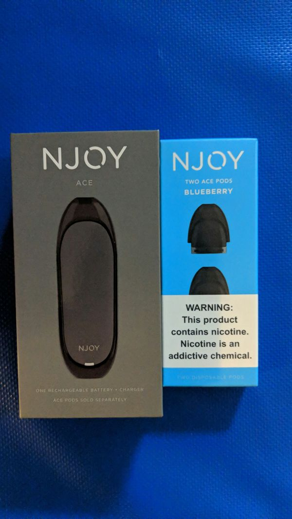 Njoy Ace & 2 Blueberry Pods for Sale in Nashua, NH - OfferUp
