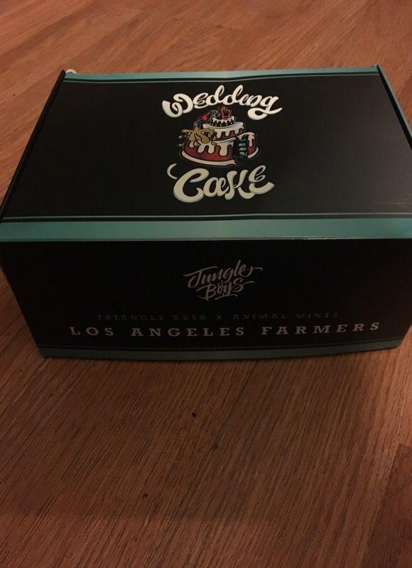 Wedding Cake Box Tlc Collective Jungle Boys For Sale In Moreno