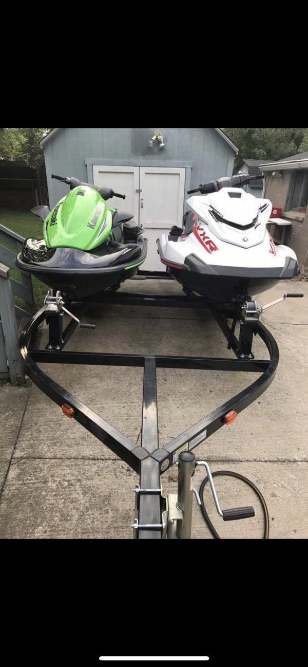2016 kawasaki and yamaha jet skis