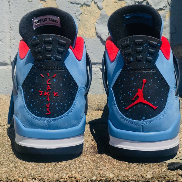 72eeeaec56b463 Travis Scott Jordan 4s BRAND NEW Size 11 for Sale in Las Vegas