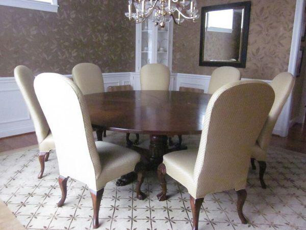Oscar De La Renta Dining Room Table Indianapolis
