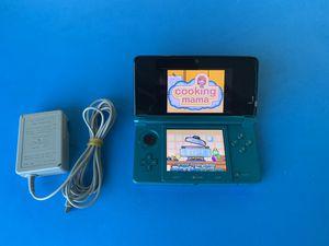 Photo Nintendo 3DS Handheld Video Game Console - Aqua Blue