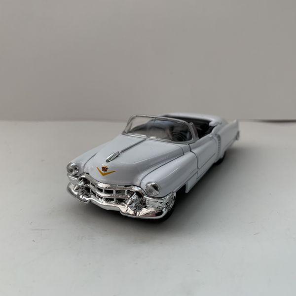 NEW 1953 White Cadillac Eldorado Convertible Car Toy