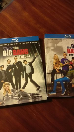 Third and Fourth seasons of the Big Bang Theory (Blu-Ray) New in Box for Sale in Lincolnia, VA