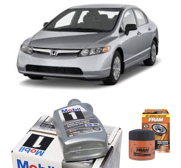 Honda Civic Oil Change Package For Sale In Long Beach, CA