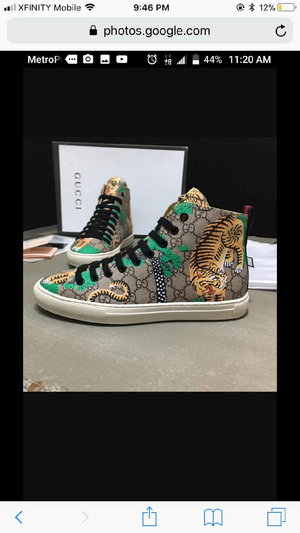 Authentic Versace , Guiseppe , Gucci Sneakers size 6-11 by order only for Sale in Hyattsville, MD