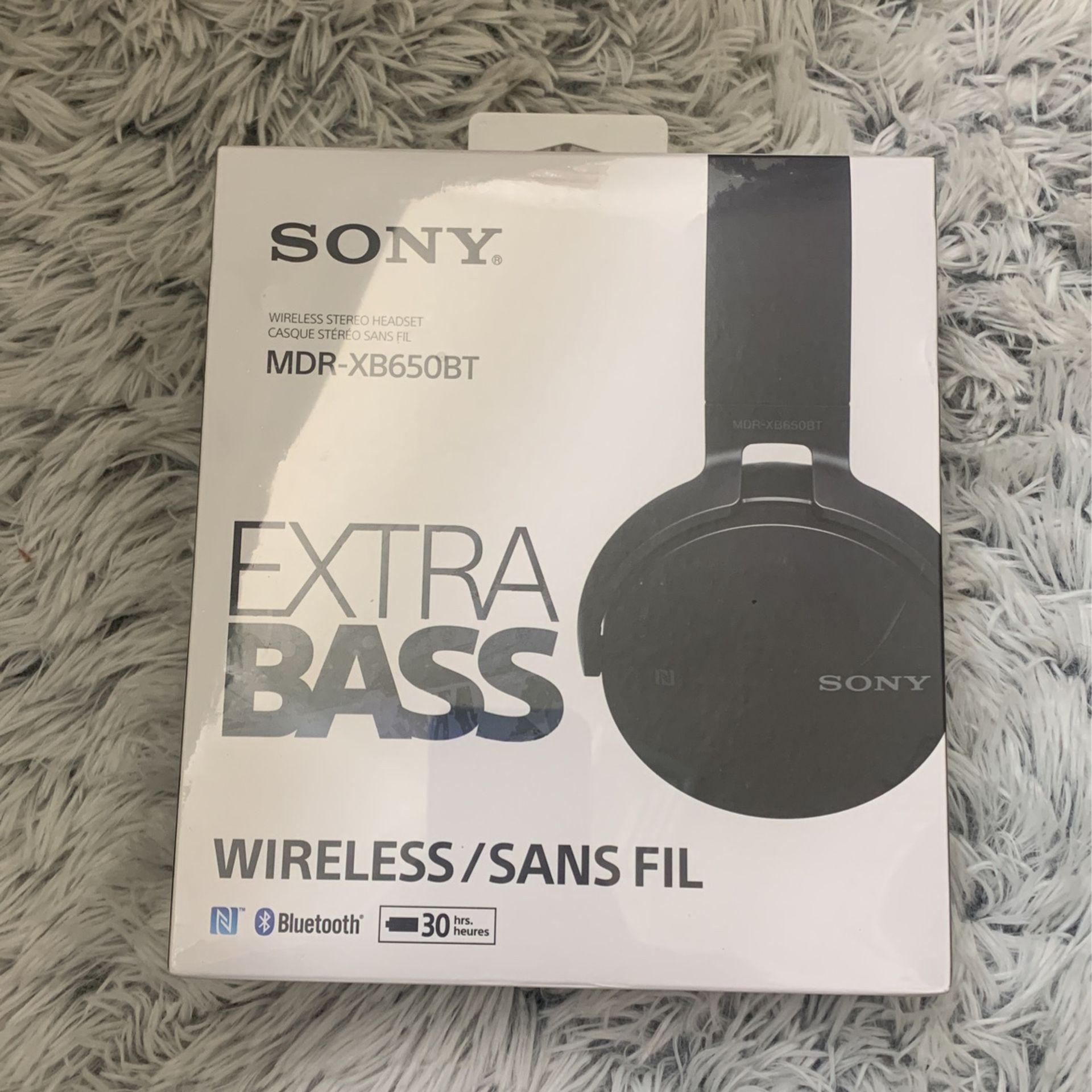 Sony Extra Bass Wireless Stereo Headset