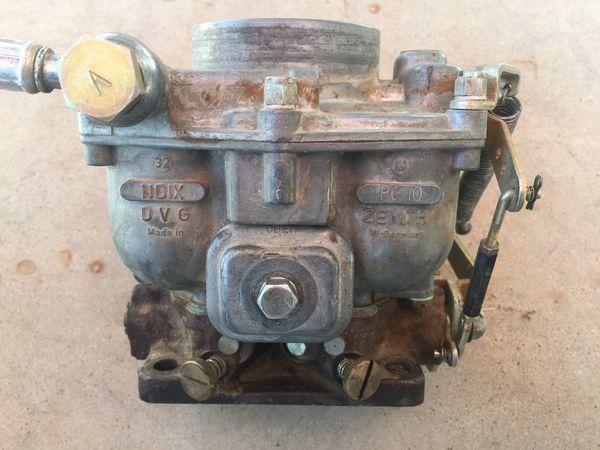Zenith NDIX 32 Carburetor VW/Porche for Sale in Tempe, AZ - OfferUp