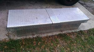 Diamond plate, side access tool box. for Sale in Orlando, FL