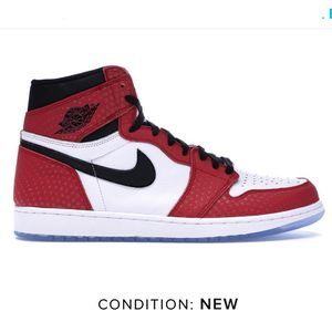 Jordan 1 High OG Spider-Man for Sale in South Riding, VA