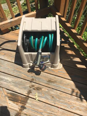 Water hose with shower and storage for Sale in Alexandria, VA