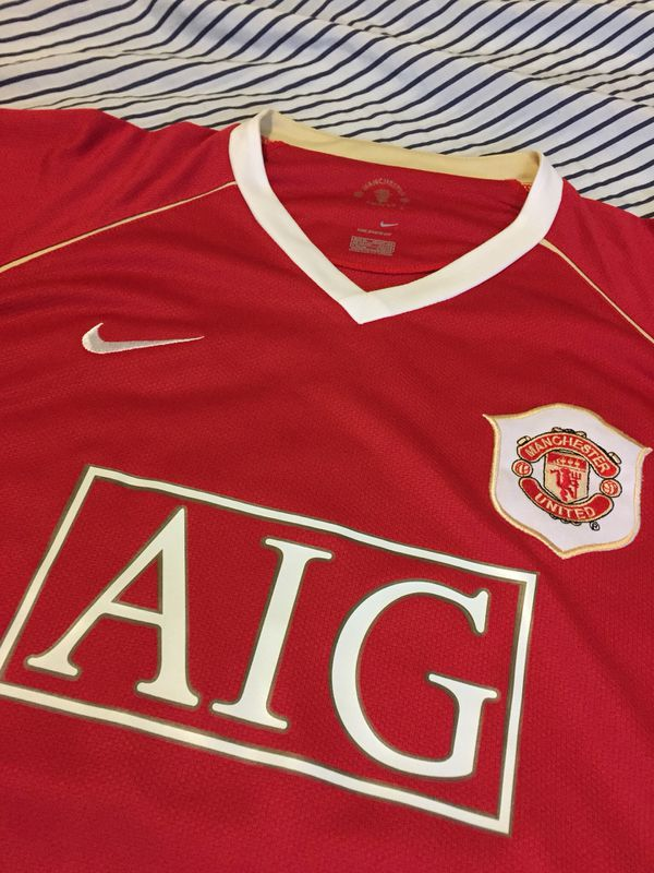 bad4b3daf94 Vintage Nike Manchester United Cristiano Ronaldo Soccer Jersey size XL