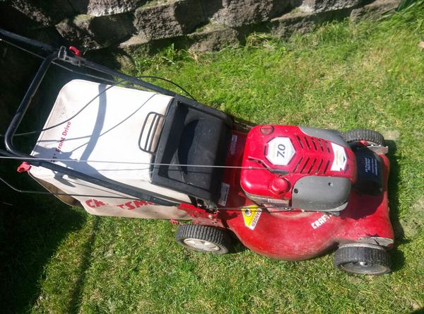 Self Propelled Craftsman 7 0 Hp Lawn Mower For Sale In