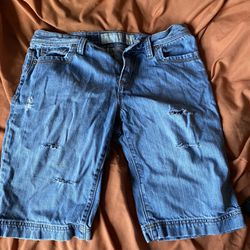 Old Navy Blue Jean Shorts Thumbnail