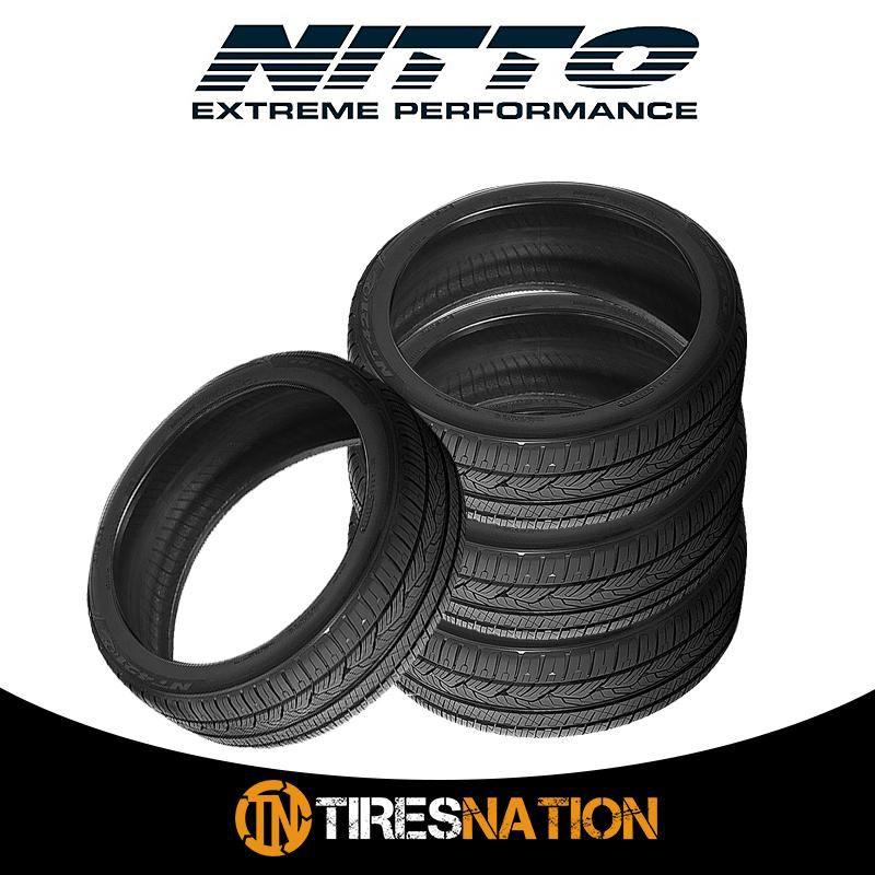 (4) New Nitto NT421Q 255/50/19 107V SUV All-Season Traction Tire