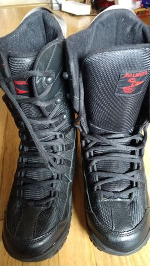 Avalanche Snowboard Boots Sizes Mens 10 Black. for Sale in Dearborn Heights, MI