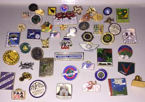 Pins - Several Aviation Related for Sale in Tacoma, WA