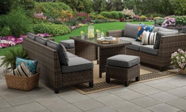 New Sectional Set Outdoor Sectional Set 5 Pc Wicker
