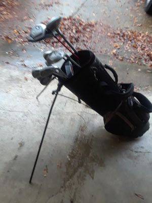 Golf clubs and bag for Sale in Dallas, TX