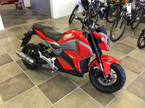 NEW Ice Bear Mini Max 50cc Scooter Red! for Sale in Largo, FL - OfferUp