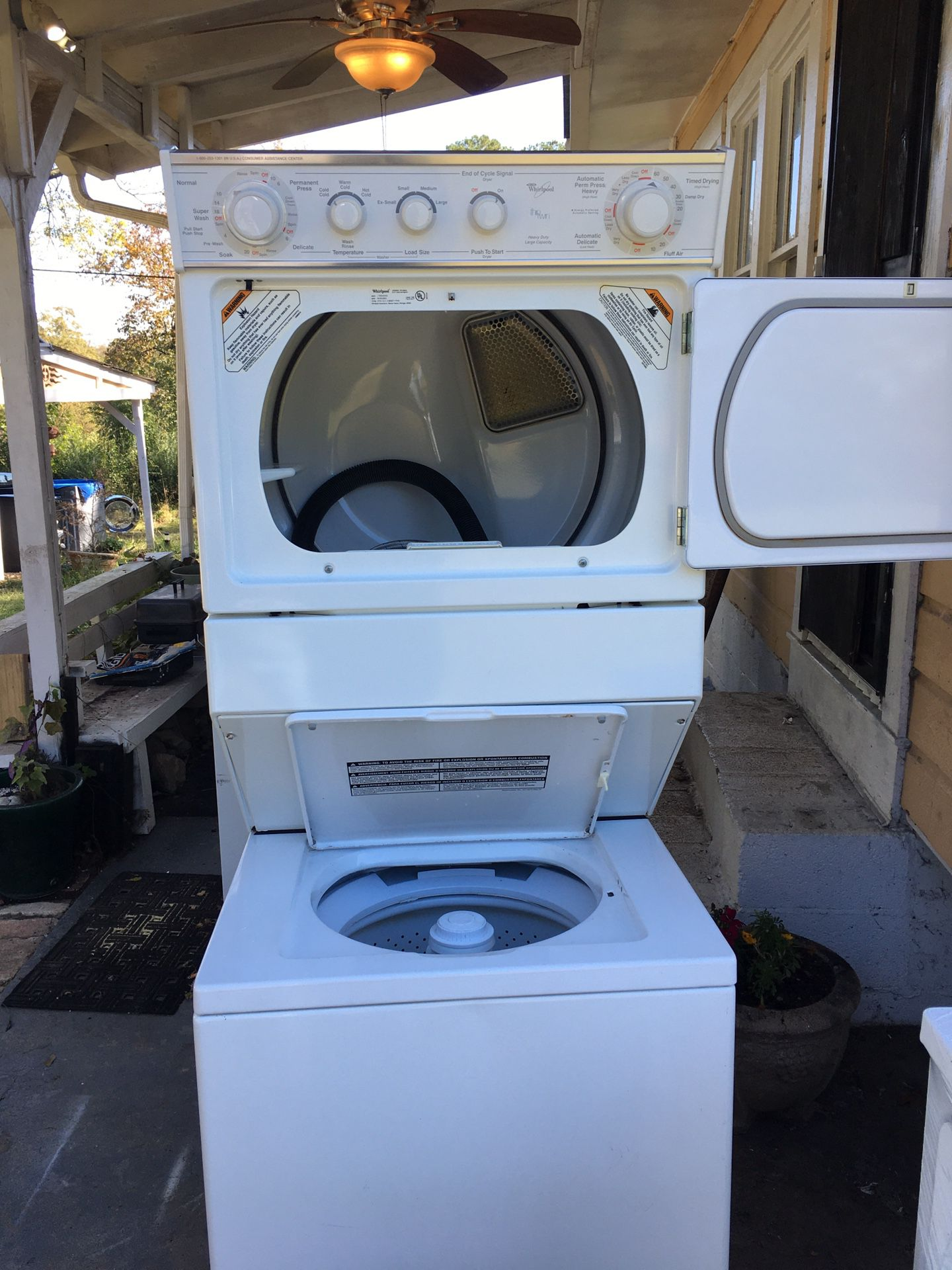 Whirlpool THIN TWIN Stacking Washer / Dryer