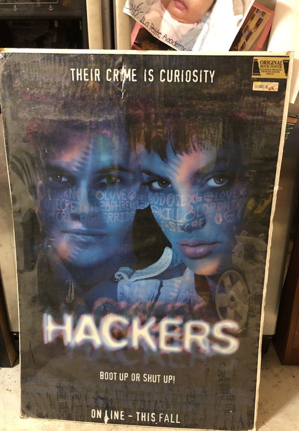 Hackers original movie poster for Sale in Delray Beach, FL - OfferUp